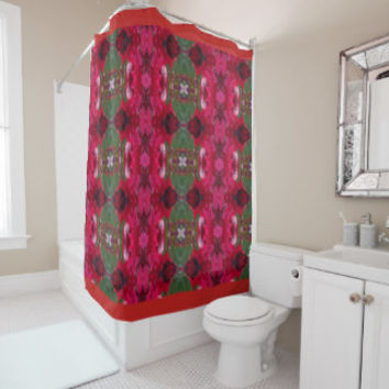 Holiday Colors THemed Bath Decor