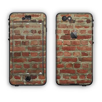 The Brick Wall Apple iPhone 6 LifeProof Nuud Case Skin Set