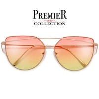 Premier Collection-Elegant Modern 63mm Crossover Browbar Women's Sungl – Sunglass Spot
