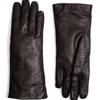 Cashmere Lined-Lambskin Gloves - Brooks Brothers