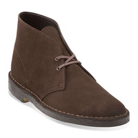 Clarks Desert Boot in Brown Suede