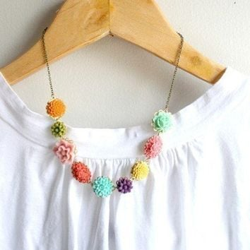 Posy Necklace by tamar on Etsy
