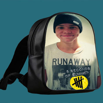 5SOS Ashton Irwin Design for Backpack / Custom Bag / School Bag / Children Bag / Custom School Bag *