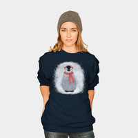 Chilly Little Penguin Crewneck By Noondaydesign Design By Humans