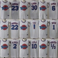 Best Deal Online Champion Space Jam Tune Squad Basketball Jerseys White