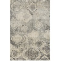 Aquarelle Grey Contemporary Rug