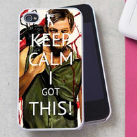 Keep Calm Daryl Dixon The Walking Dead iPhone Case And Samsung Galaxy Case