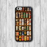 Beer Rack Collection iPhone 6 Cases, Alcohol Beverage Drink iPhone 5S, iPhone 4, iPhone 4S Hard Case, Rubber Covers Deco Accessorie Gift