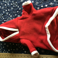 Santa Hoodie for Dogs Small