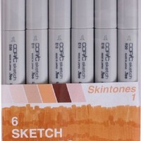 Copic Marker Sketch Skin Tones 1 Marker (Pack of 6)