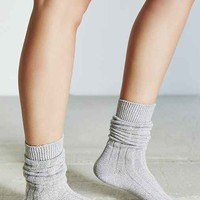 Rib Slouchy Boot Sock