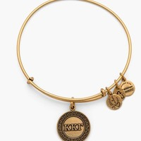 Women's Alex and Ani 'Collegiate - Kappa Kappa Gamma' Expandable Charm Bangle - Russian