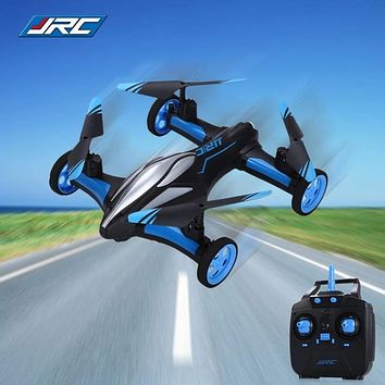 RC Drone Land Sky 2 In 1 6 Axis Gyro UFO Headless Mode RC Helicopters