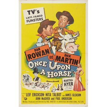 Once Upon A Horse poster 24in x 36in
