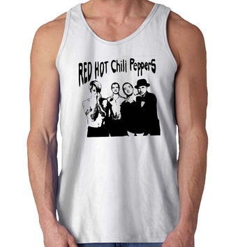 Red Hot Chili Peppers New For Mens Tank Top Fast Shipping For USA special christmas ***