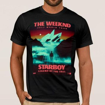 ca spbest THE WEEKND STARBOY TOUR  LEGEND OF THE FALL TEE