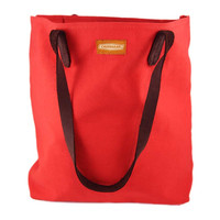 CANVAS TOTE | Red