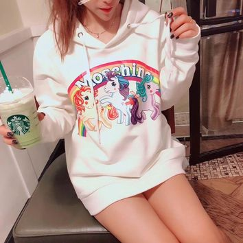 One-nice™ ''MOSCHINO'' Women Hot Hoodie Cute Sweater