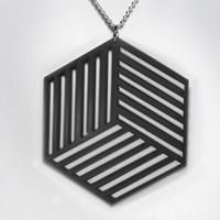 Cube Cutout Necklace from Lianna Sheppard // Ocular | Made By Lianna Sheppard | £18.00 | BOUF