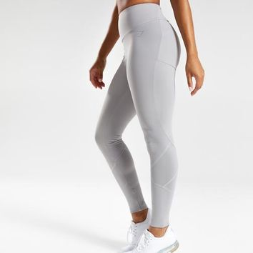 Gymshark Fused Ankle Leggings - Light Grey