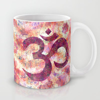"""Om"" Mug by Bohemian Gypsy Jane 