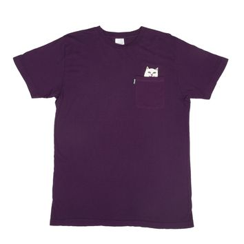 Lord Nermal Pocket Tee (Plum)