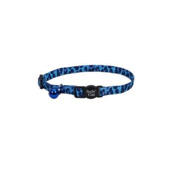 "Fashion Safe Cat Safety Collar 3/8"" x 8-12"" Leopard"