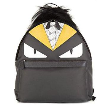 Fendi Bag Bugs Bag - Gray Nylon