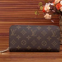 LV trendy women's leather clutch bags F-KSPJ-BBDL LV printing