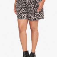 Animal Print Soft Short