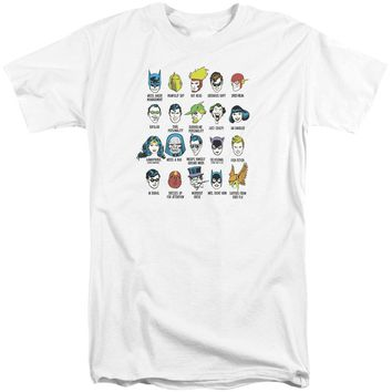 Dc - Superhero Issues Short Sleeve Adult Tall Shirt Officially Licensed T-Shirt