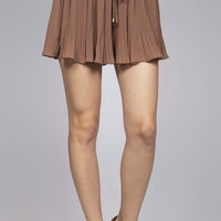 Autumn Lover Shorts -Mocha