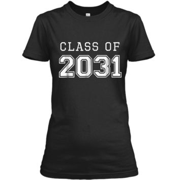 Class of 2031 Grow With Me  First Day of School  Ladies Custom