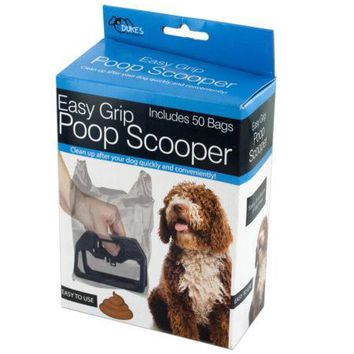 Easy Grip Poop Scooper with Bags (Available in a pack of 18)