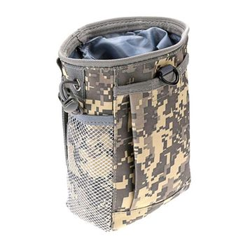 New Tactical Military Molle Ammo Pouch Gun Magazine Dump Drop Reloader Pouch Bag Utility Hunting Rifle Magazine Recovery Pouch