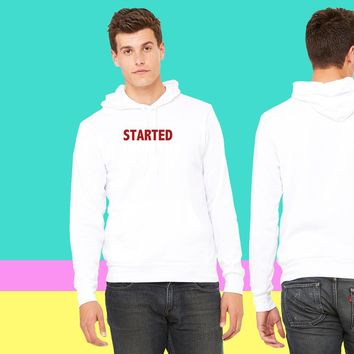 Started from the bottom Jordan Elephant print sweatshirt hoodie