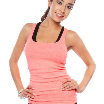 Papaya Clothing Online :: RIBBED SOLID TANK