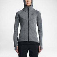 The Nike Sportswear Tech Fleece Women's Full-Zip Hoodie.