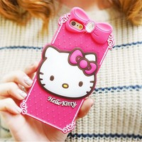 iPhone 6 Plus Hello Kitty Classic Silicone Cute Case