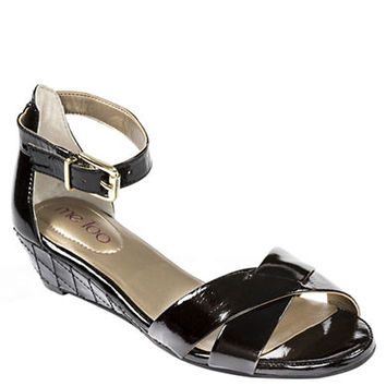 Me Too Shae Patent Leather Wedge Sandals