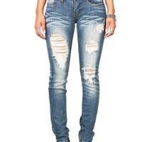 Shred Show Straight Jeans