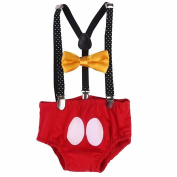 Fancy Newborn Baby Boy Girl Outfit Kids Headband+Pants Costume Birthday Gifts summer girls clothes