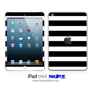 Black & White Striped iPad Skin