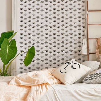 Chasing Paper And Kate Zeremba Bright Eyes Removable Wallpaper - Urban Outfitters