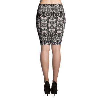 """INC"" Houndstooth Pencil Skirt"