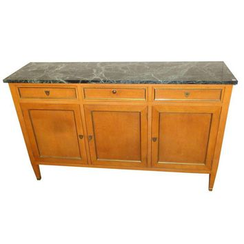 Pre-owned Cassard Chateau Original Sideboard Marble Top