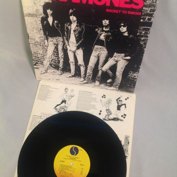 The Ramones Rocket To Russia Vinyl Record From Turntabling On
