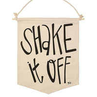 Shake It Off Canvas Banner