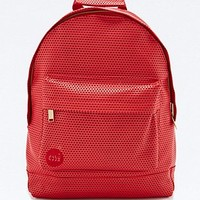 Mi-Pac Perforated Backpack in Red - Urban Outfitters