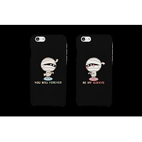 Forever Be My Always Mummy Couple Matching Phone Cases (Set)